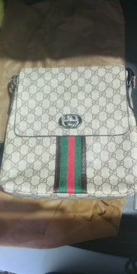 white and green Gucci leather backpack San Antonio, 78219