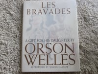 Les Bravades Hardcover First Edition Book by Orson Welles