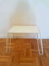 IKEA side small table with glass.  Toronto, M2M 4B9