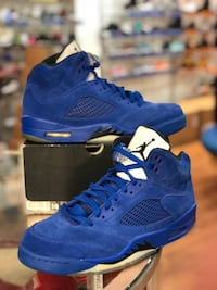 Blue suede 5s size 10 Silver Spring, 20902