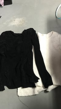 two white and black sweatshirts 3728 km
