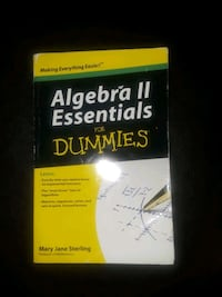 "Algebra II Essentials for ""Dummies"" Hampton, 23666"