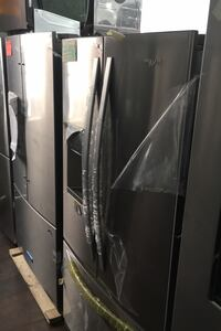 WHIRLPOOL FRENCH DOOR STAINLESS STEEL REFIGERATOR