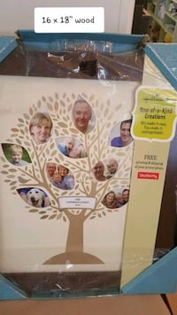 Family tree frame  orig $50 Thurmont, 21788