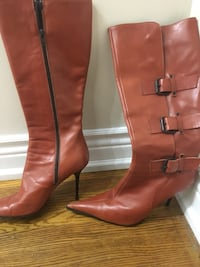 Leather boots size 40 Toronto, M9N 2P6