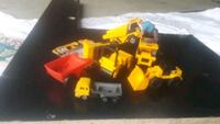 yellow and black plastic toy car Moreno Valley, 92557