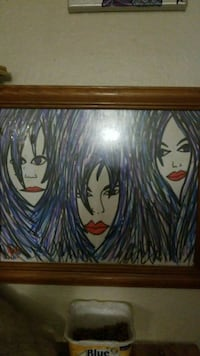 three woman's portrait artwork Tulsa, 74135
