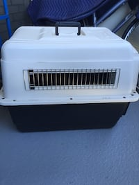 white and black pet carrier Mississauga, L4Y 2N9