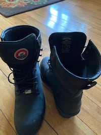 Red wing boots used