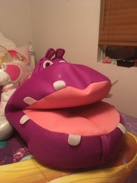 Hippo bean bag chair