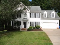 HOUSE For Rent 4+BR 2.5BA Raleigh, 27612