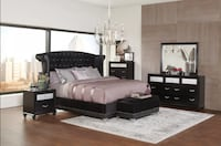 King Size Bed Frame NEW Euclid