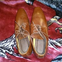 pair of brown leather dress shoes Edmonton, T5B 2W3