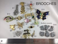 Brooches, Brooches, Brooches!   Prices as marked on pics Chesapeake, 23320