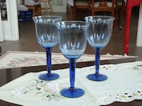 NEw! Crystal candle holder set East Gwillimbury