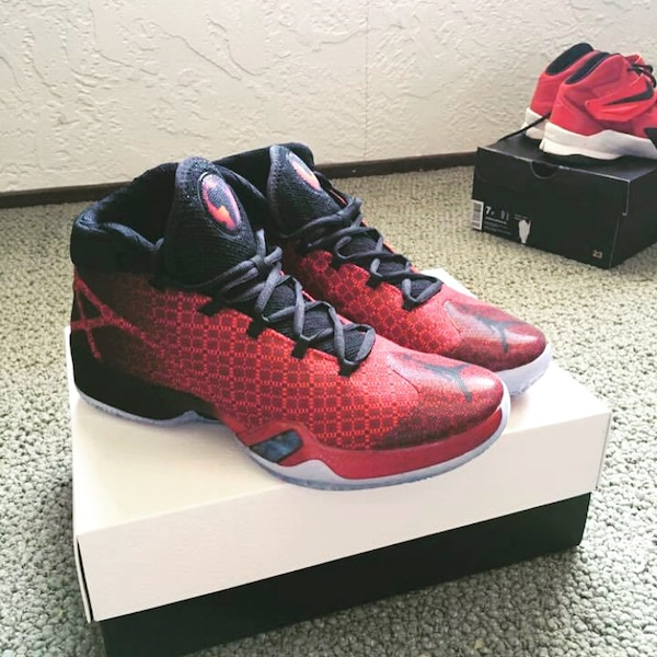49d0053528c0 Used Air Jordan 30 Gym Reds (Size 9) for sale in Colorado Springs - letgo