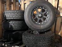 Jeep Wheels and Tires Centennial