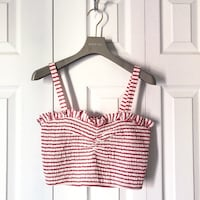 FOREVER 21 STRIPED CROP TOP. Toronto, M4S 2M5