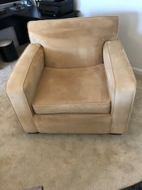 Comfy oversized chair, Golden tan colored 24 km