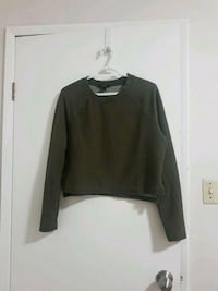 army green sweater (free with purchase of $5 or more ) Vancouver, V5S 2N8