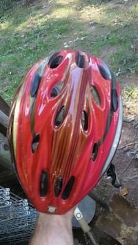 red and black bicycle helmet Alexandria, 22315