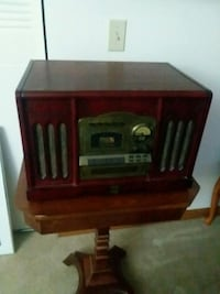 Record CD and radio player