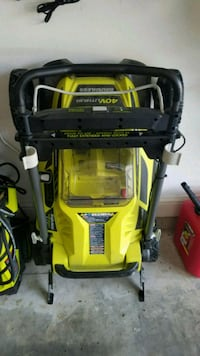 Ryobi 40v Battery Mower w/ battery and charger Purvis, 39475