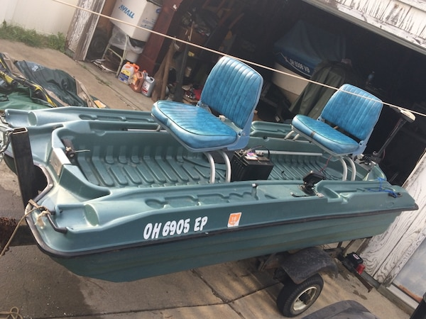 10ft Pelican Bass Raider 10e Loaded Ready 500