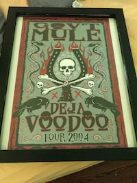 Framed Tour Poster