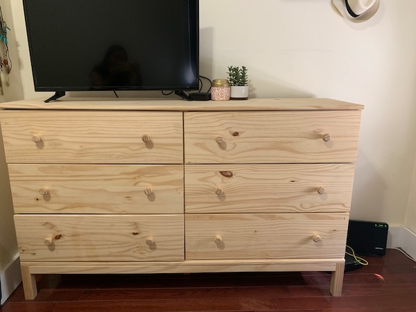 Sold Ikea Tarva 6 Drawer Chest In New