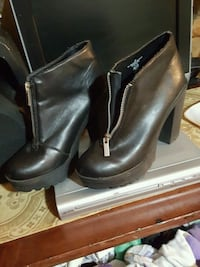 leather shoe boots