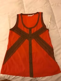 red and black sleeveless top Los Angeles, 90029