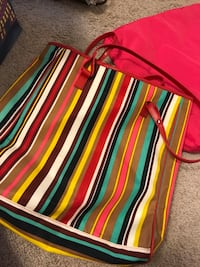 striped tote / bag  Hagerstown, 21740