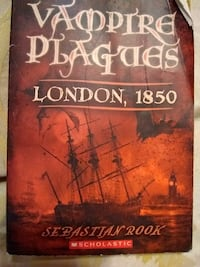 vampire plagues london, 1850 sebastian book
