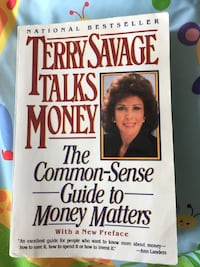 """Book """"Terry Savage Talks Money"""" The Common Sense Guide to Money Matter"""
