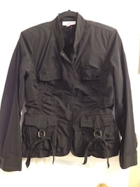 Black spring jacket Linea Domain excellent quality only wear couple times,like new ! Brossard, J4Y 2J7