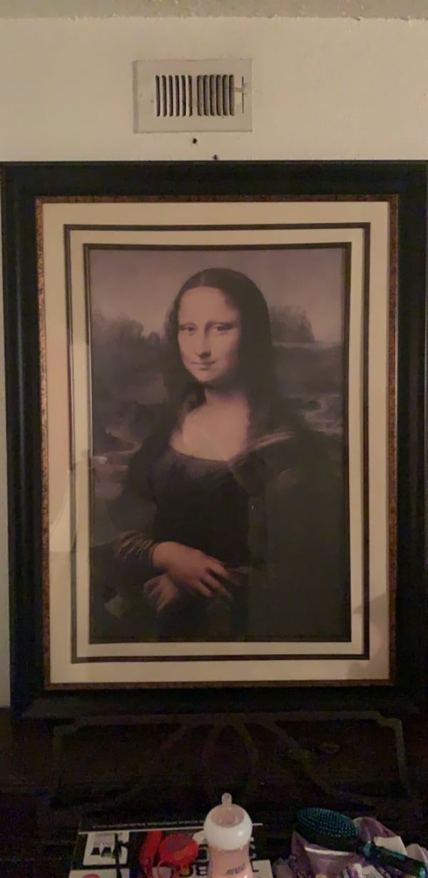 Frame Mona Lisa  3ft by 4ft in size 11f2c4a9-a405-4a73-89db-d810ac2e9ee0