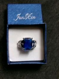 """""""SPECIAL New Ladies Silver Blue Sapphire Ring """" Greensboro, 27406"""