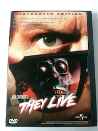 John Carpenters They Live dvd Baltimore