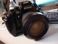 Nikon F4 Camera with Lens, Battery, and Screenviewer Las Vegas