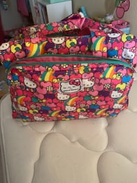 Ju Ju Be Hello Kitty diaper bag COCOA