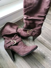 Brown boots  size 6 Toronto, M3H 0C6