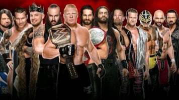 4 Royal rumble tickets