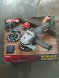 New 4in Angle grinder (Craftsman)  Chicago, 60641