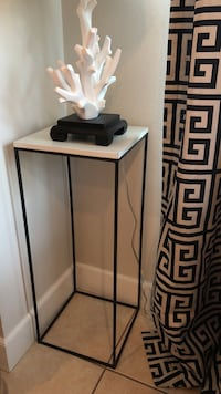 Tall side table