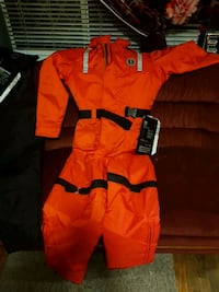Mustang survival suit.