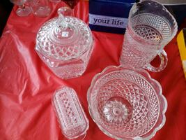 6 pc glass dishes