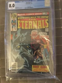 CGC Comic Books 1st appearance of the She Hulk & The Eternals