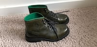 Pair of green/brown leather boots - US 8 Rockville, 20855