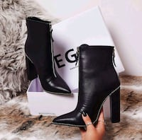 EGO Mabel Studded Ankle Boots Union City, 07087